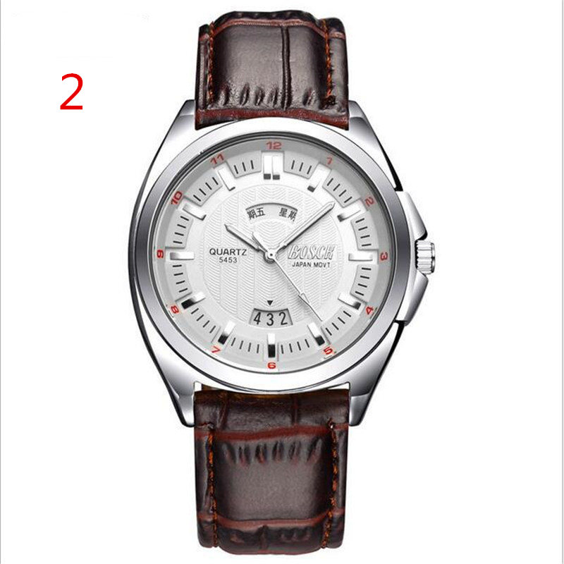 Watch quartz men's watch luminous 2019 authentic Swiss elderly middle-aged and elderly waterproof atmospheric electron(China)