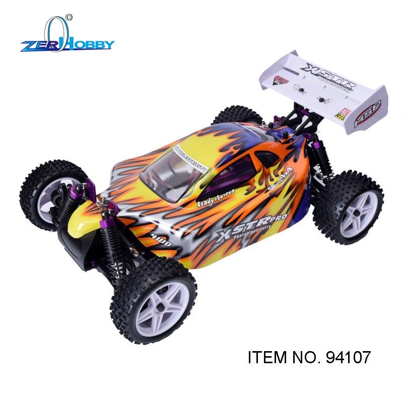HSP Racing 94107 Rc Auto Elektrische Power 4wd 1/10 Skala Off Road Buggy XSTR Hohe Geschwindigkeit Hobby Ähnliche REDCAT Racing - 3