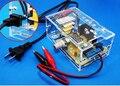 Versão atualizada DIY fonte de Alimentação de Tensão Ajustável LM317 Bordo Aprendizagem Kit com caso aprender kit frete grátis