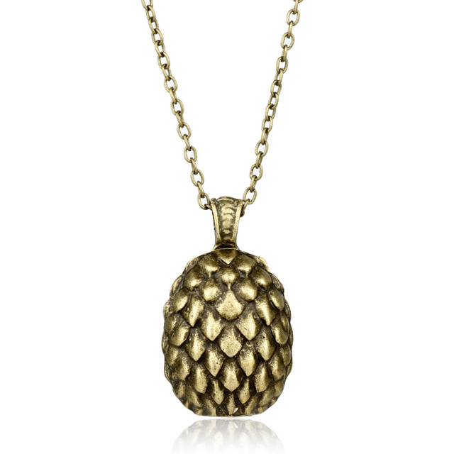 Dongsheng movies game of thrones dragon egg pendant necklace dongsheng movies game of thrones dragon egg pendant necklace daenerys targaryen bronze egg necklaces movie jewelry mozeypictures Images