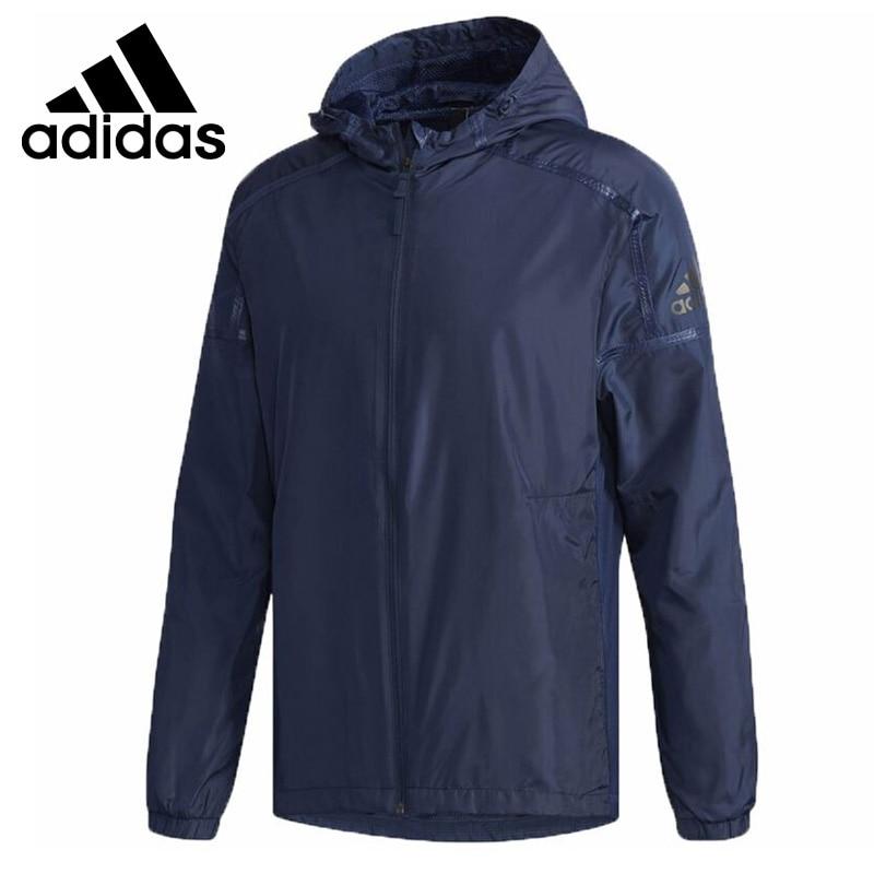 Original New Arrival 2018 Adidas WB INER HEATHER Men's jacket Hooded Sportswear headl iner джинсовые брюки