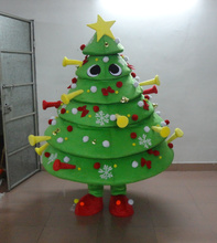 OISK Customized Christmas Tree Mascot Costume Performance Party Character Fancy Dress Outfit adult gifts xmas Christmas Decorate