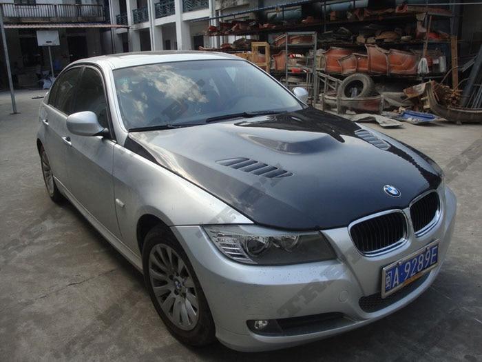 09-12 BMW E90 Vrs Style Carbon Fiber Hood3