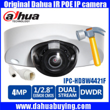 Original English Firmware Dahua 4MP IP Camera IPC-HDBW4421F-E 2688*1520 Onvif WDR IR distance 20m IPC-HDBW4421F Free DHL