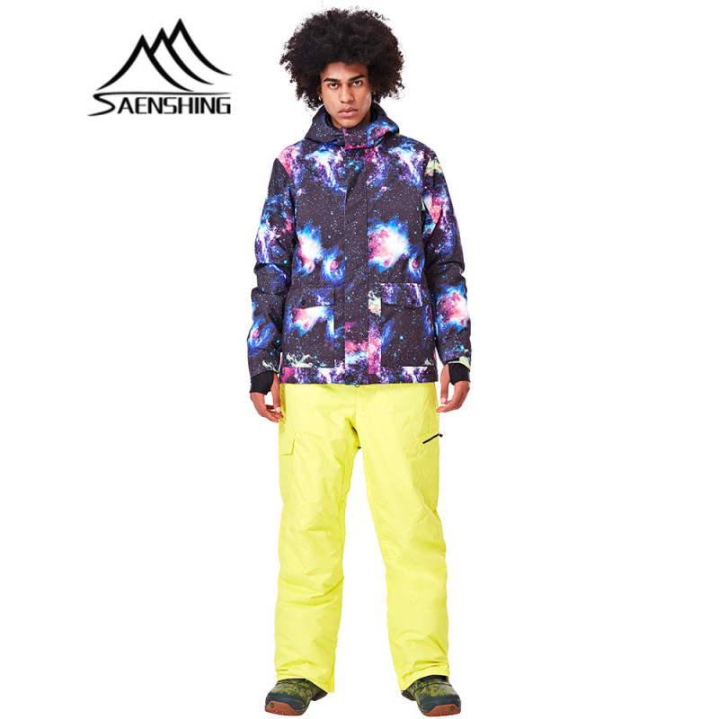 купить SAENSHING Winter Ski Jacket Men Waterproof Jacket Skiing Snowboard Outdoor Sport Snow Invierno Mountaineering Ropa Hombre по цене 4878.82 рублей