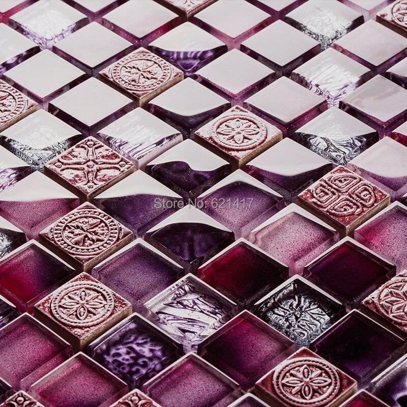 Online kopen wholesale paars keuken tegels uit china paars keuken ...