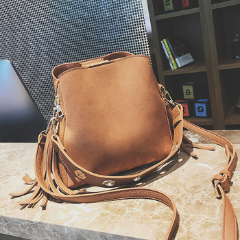 Retro Bucket Bag