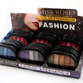 MISS ROSE 5-Color Shimmer Eyeshadow Long-lasting Easy to Wear Showing beautiful & charming Eyes Makeup Five colors 7001-063MT