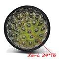 XM-24 х T6 LED 38000 люмен Высокая мощность 5 Режимов Блики фонарик Факел Работает лампа прожектор accent свет кемпинг фонарь