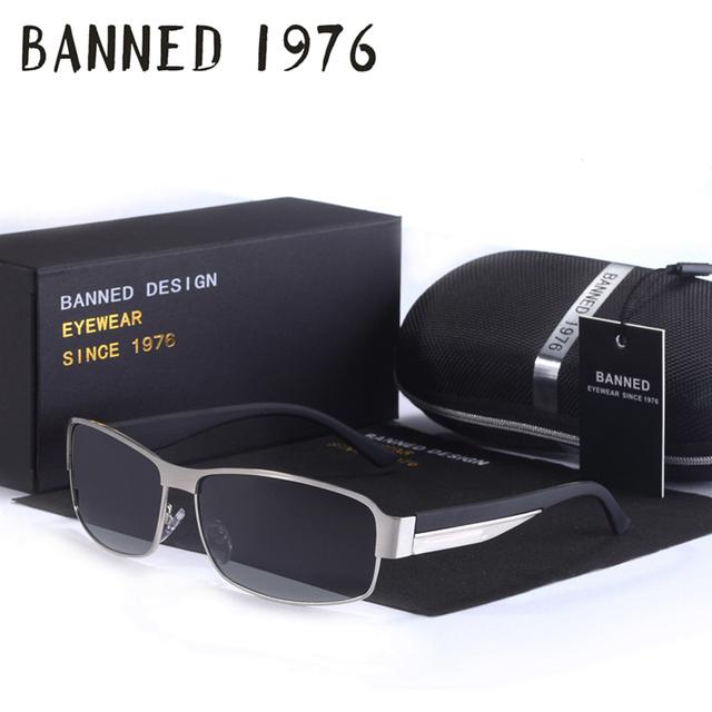 2016 Diseñador de la Marca Polarizado Gafas moda Hombres mujeres gafas de Sol de Protección UV400 gafas de Sol Gafas de sol masculinas de conducción gafas con caja