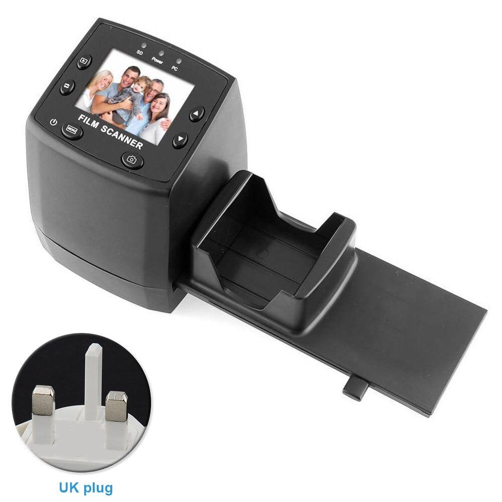 EC717 2.4 pouces Convertisseur Outil Photographie Diapositive Haute Résolution écran lcd scanner de film Négatif Films Film Rapide Image Viewer