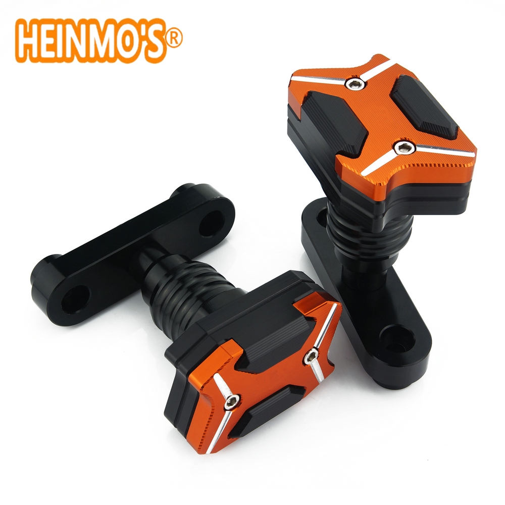Motorcycle Anti Crash pads Frame Slider Protector For KTM Duke RC 125 250 390 2013 2014 2015 2016 2017 Falling Protection