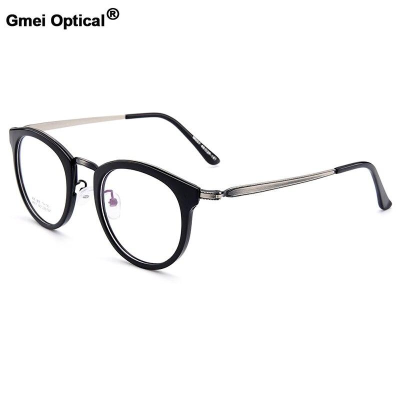 Gmei Optical Retro Full Rim Round Women Optical Eyeglasses Frames Female Myopia Presbyopia Eyewears 5 Colors Optionals M007