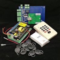 DIY One Door Access Control System TCP IP Single Door Access Panel Rfid Controller 125khz Keypad