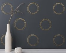 Funny Circle Wall Sticker Vinyl Decor For Kids Room Living Decoration Decals Murals wall-stickers