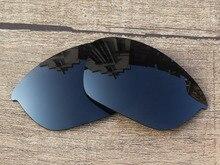 Black Grey Polarized Replacement Lenses For Half Jacket 2.0 Sunglasses Frame 100% UVA & UVB Protection