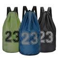 Large basketball bags For balls Soccer Drawstring Mash pack Fitness Bucket Bag Outdoor Basketball Backpack For Men J781522|bag for balls|outdoor basketball|basketball ball bag -