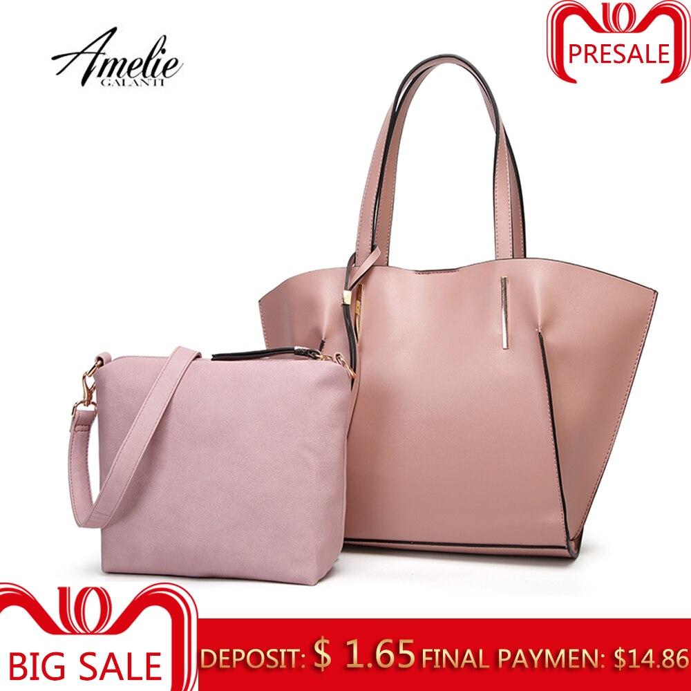 AMELIE GALANTI Женская сумка Набор Сумка в сумке Стильный и практичный Благородный внешний вид Высококачественная ткань PU