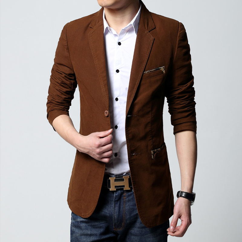 New Autumn Suit Men Brand Casual Jacket Terno Masculino ...