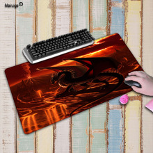 Mairuige Animal Dragon Large Gaming Mouse Pad Lockedge Mouse Mat Keyboard Pad Mousepad For Laptop Computer Notebook Desk Mat