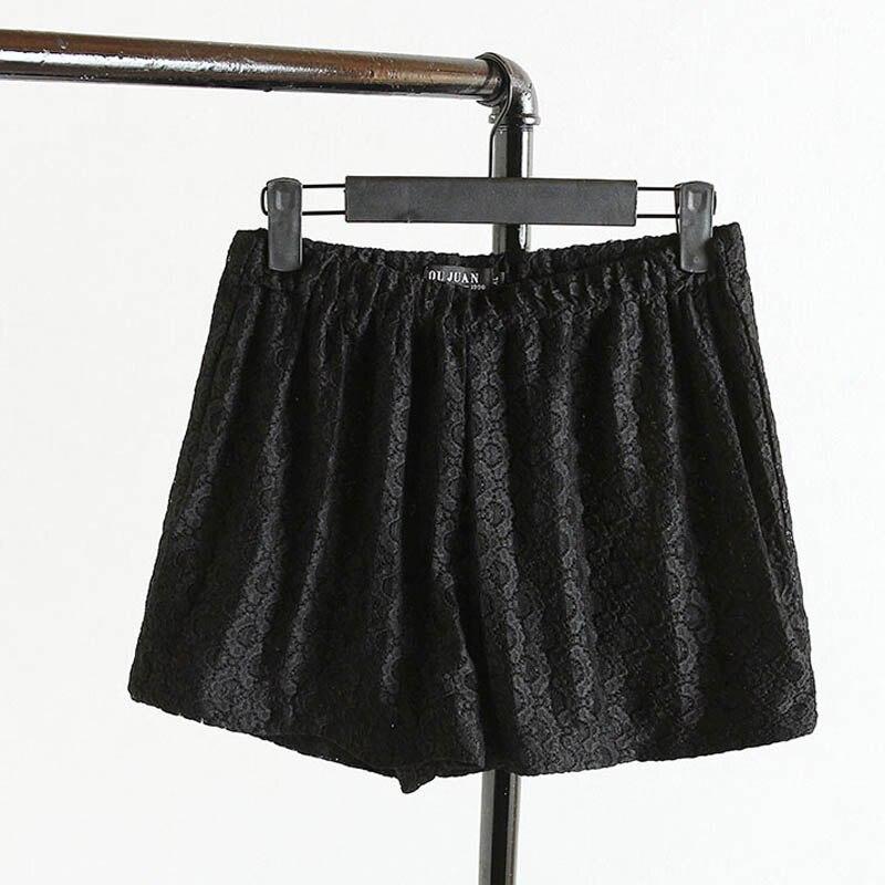 Acquista all'ingrosso online nero pantaloncini crochet da ...