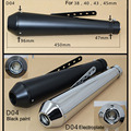 motorcycle motorbike muffler antiqued vintage fashion exhaust piper for Harley Davidson exhaust
