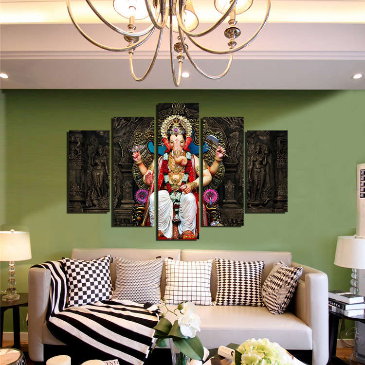 Diy Ganesha Decoration at Home