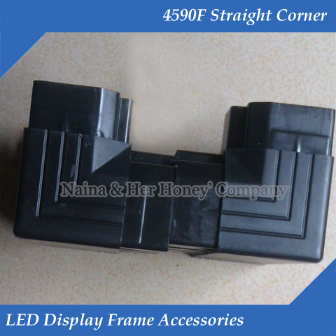 4590F Straight Corner LED Display Frame Accessories