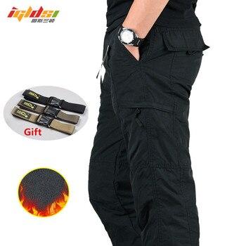 49ef5aa6d Moda Casual para hombre Punk negro PU cuero pantalones holgados pantalones  de tubo de motocicleta ...