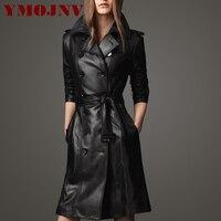 Leather Jackets For Women 2016 Autumn Winter Women Leather Coat Female Slim Plus Size S 4XL
