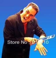 Free Shipping Knife Through Arm Bloody Arm Knife Magic Tricks Magic Accessories Close Up Satge Magic