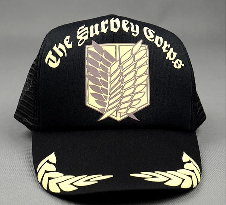 Attack on Titan hat Summer hat COSPLAY Attack on Titan logo cap