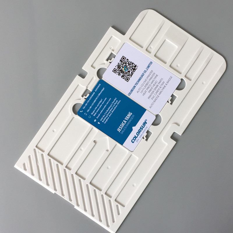 20pcs High Quality PVC Card Printing Tray a generation of CD printers хрущев на царстве