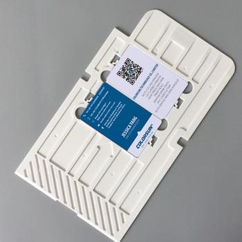 20pcs High Quality PVC Card Printing Tray a generation of CD printers