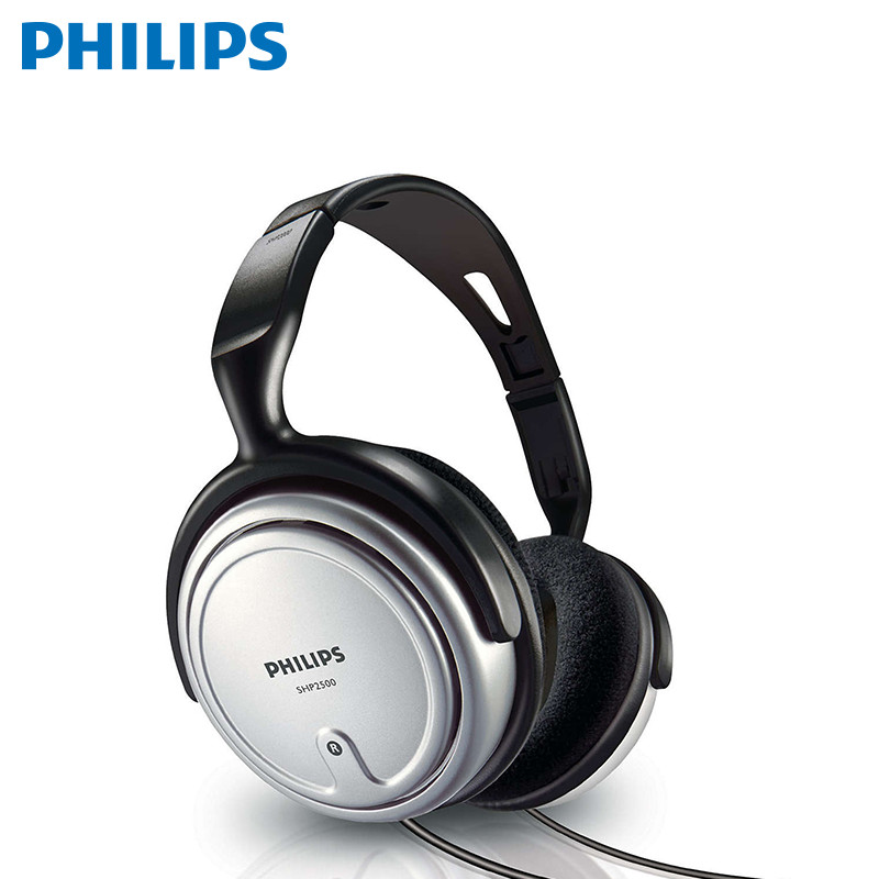 Earphones Philips SHP2500 awei a860bl sport bluetooth earphones with mic gold