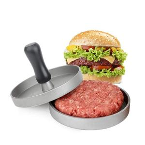 Aluminum Alloy Hamburger Press Round Hamburger Meat Beef Roast Grill Burger Press Patty Maker Mold Kitchen Tool