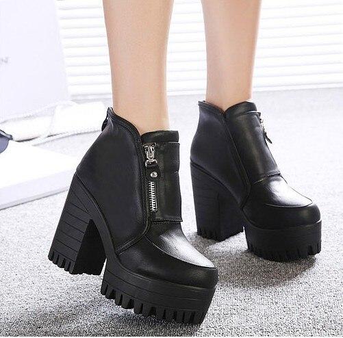 Aliexpress.com : Buy ankle boots heels women winter autumn ...