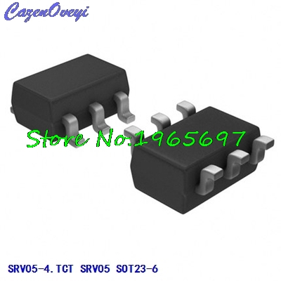 10pcs/lot SRV05-4.TCT SRV05 Code: V05 SOT23-6 New Original In Stock