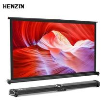 HENZIN 40 inch 16:9 Mini Table Projector