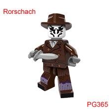 Building Blocks Rorschach Walter Kovacs Supergirl Watchmen Super Hero Star Wars Bricks Dolls Kids Diy Toys Hobbies Pg365 Figures