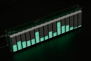 Image 2 - HIFI DIY 레벨 LED 음악 스펙트럼 분석기 오디오 레벨 VU 미터 MP3 PC 앰프 오디오 표시기 속도 조절 가능 AGC