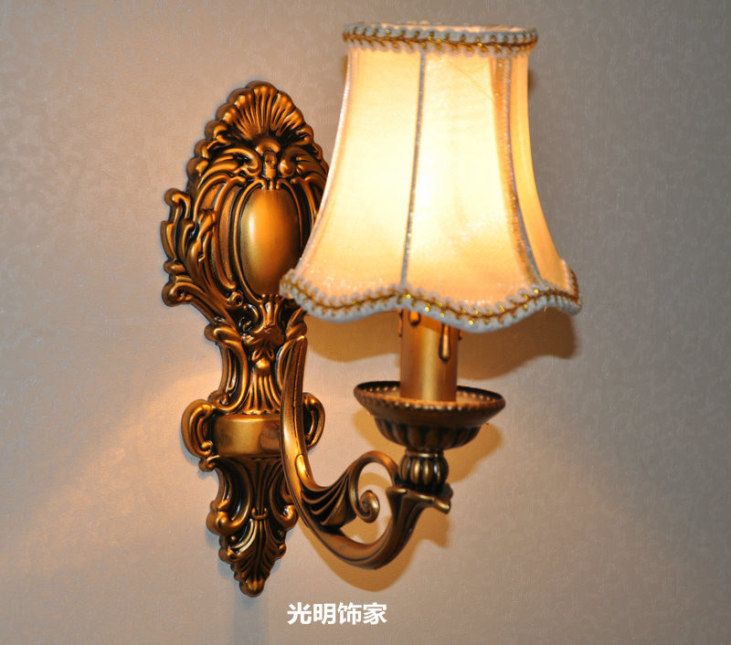 Candle Wall Lamp Fashion Antique Lighting Bedroom Bedside