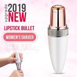 Женский мини электрический эпилятор губная помада в виде Пули Форма бритва Женский Триммер для удаления волос для женщин тело лицо