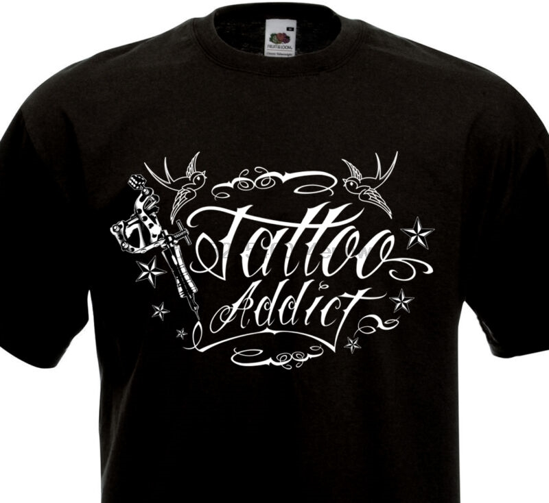 Tatouage Old School Culture Tatoueuse Hirondelles Ink T-SHIRT TATTOO ADDICT