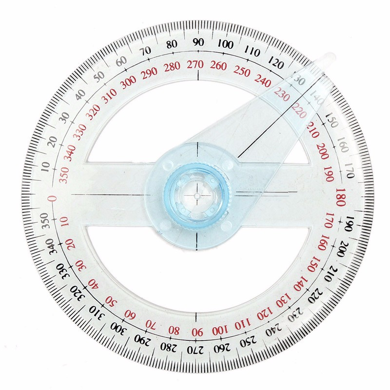 plastic round ruler patchwork ruler 360 degree pointer protractor rh aliexpress com 360 degree performance appraisal diagram 360 degree angle diagram