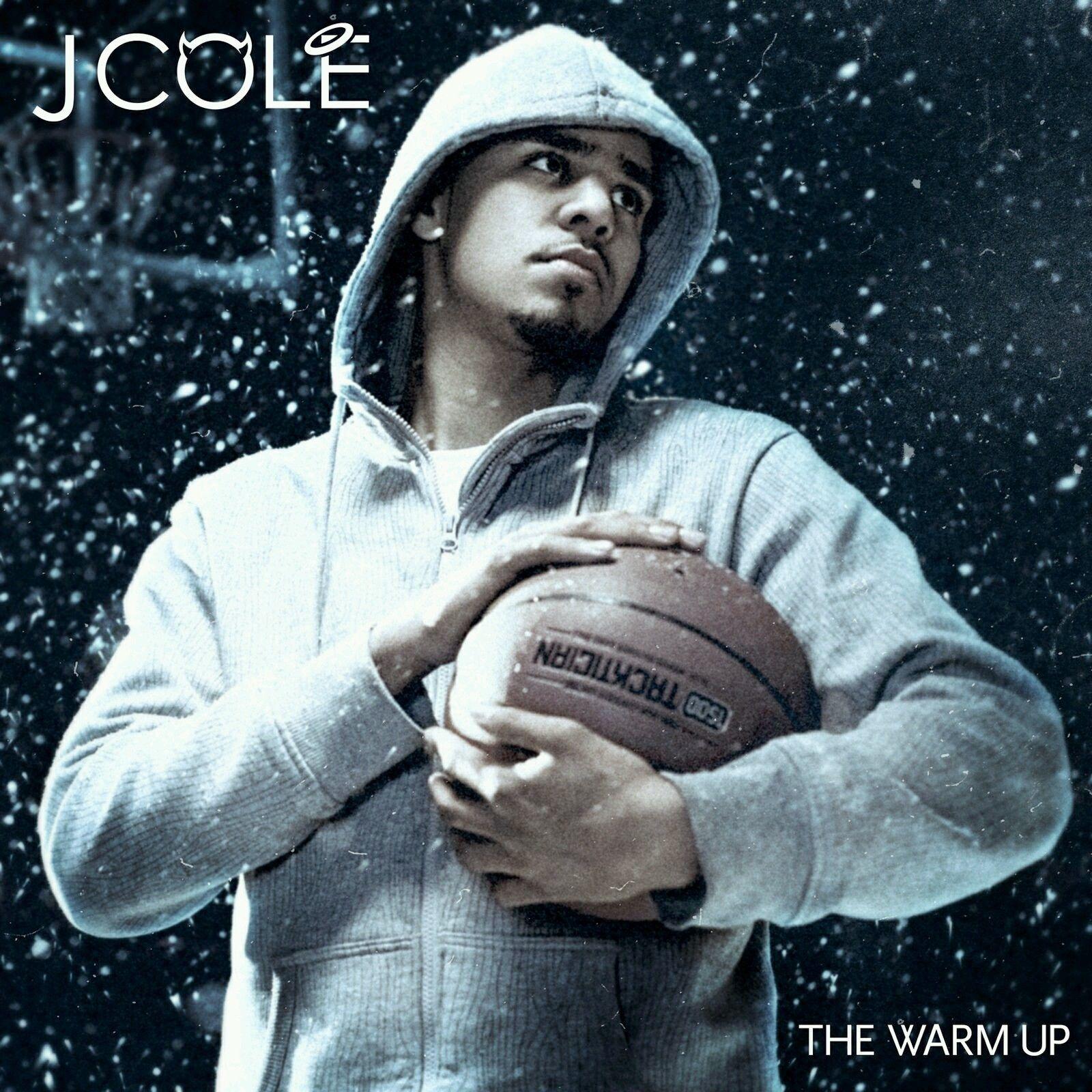 J COLE The Warm Up 2009 Album Cover Basketball Rap Hip Hop Poster 50