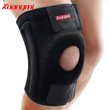 Kuangmi Sports Double-spring Support EVA Knee Stabilizer Pad