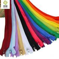 Shuan Shuo 20cm Length Close-End Nylon Zipper For Sewing Trousers DIY Handbag Bag Pencil Case and Craft 14pcs/bag