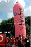 Подгонянный раздувной воздушный шар презерватива рекламы презерватива для рекламных мероприятий