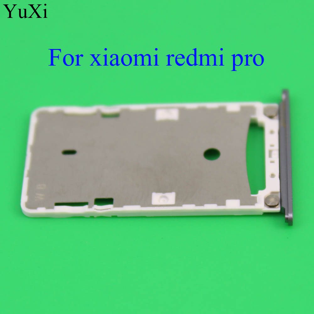 YuXi 1PCS New Nano SIM Card Tray Holder Micro SD Card Slot Holder Adapter for Xiaomi Redmi Pro